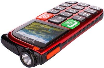 Мобильный телефон Sigma Comfort 50 Light Dual SIM Red 5