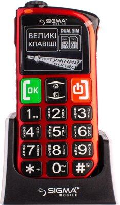 Мобильный телефон Sigma Comfort 50 Light Dual SIM Red 2