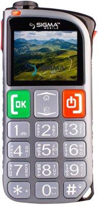 Мобильный телефон Sigma Comfort 50 Light Dual SIM Grey 1