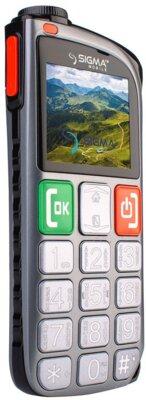 Мобильный телефон Sigma Comfort 50 Light Dual SIM Grey 3
