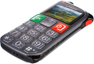 Мобильный телефон Sigma Comfort 50 Light Dual SIM Grey 4