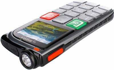 Мобильный телефон Sigma Comfort 50 Light Dual SIM Grey 5