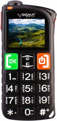 Мобильный телефон Sigma Comfort 50 Light Dual SIM Black 1