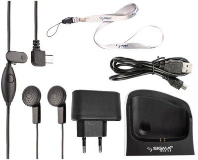Мобильный телефон Sigma Comfort 50 Light Dual SIM Grey 9