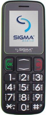 Мобільний телефон Sigma Comfort 50 Mini 3 Black Green 1