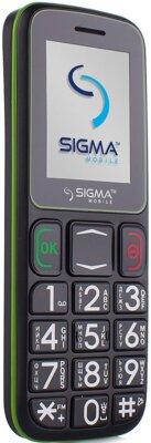 Мобільний телефон Sigma Comfort 50 Mini 3 Black Green 3