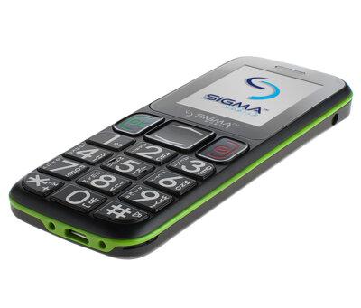 Мобільний телефон Sigma Comfort 50 Mini 3 Black Green 4