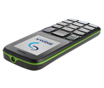 Мобільний телефон Sigma Comfort 50 Mini 3 Black Green 5