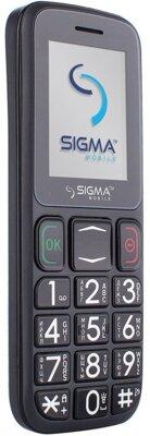 Мобільний телефон Sigma Comfort 50 Mini 3 Grey Black 3