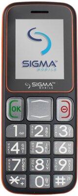 Мобільний телефон Sigma Comfort 50 Mini 3 Grey Orange 1