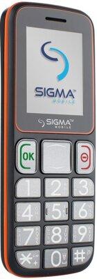 Мобільний телефон Sigma Comfort 50 Mini 3 Grey Orange 3