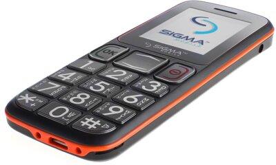 Мобільний телефон Sigma Comfort 50 Mini 3 Grey Orange 4