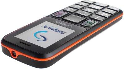 Мобільний телефон Sigma Comfort 50 Mini 3 Grey Orange 5