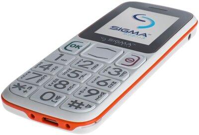 Мобільний телефон Sigma Comfort 50 Mini 3 White Orange 4