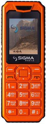 Мобильный телефон Sigma X-style 11 Dragon All Orange 1
