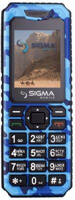 Мобільний телефон Sigma X-style 11 Dragon Blue Camouflage 1