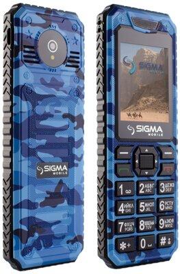 Мобільний телефон Sigma X-style 11 Dragon Blue Camouflage 3