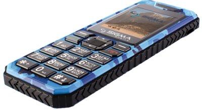 Мобільний телефон Sigma X-style 11 Dragon Blue Camouflage 5