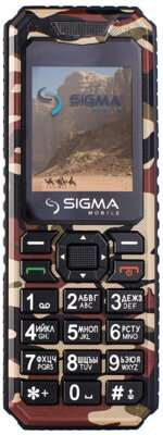 Мобільний телефон Sigma X-style 11 Dragon Coffe Camouflage 1
