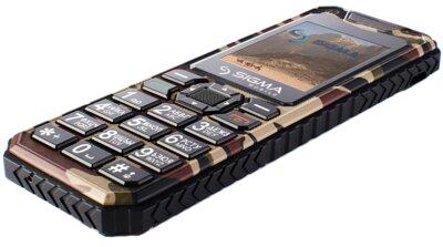 Мобільний телефон Sigma X-style 11 Dragon Coffe Camouflage 5