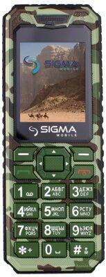 Мобільний телефон Sigma X-style 11 Green Camouflage 1