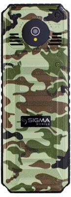 Мобільний телефон Sigma X-style 11 Green Camouflage 2