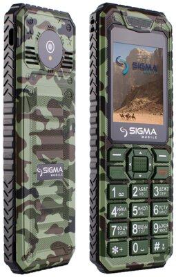Мобільний телефон Sigma X-style 11 Green Camouflage 3