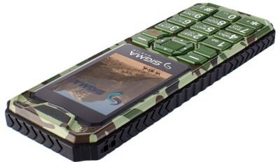 Мобільний телефон Sigma X-style 11 Green Camouflage 4