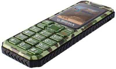Мобільний телефон Sigma X-style 11 Green Camouflage 5
