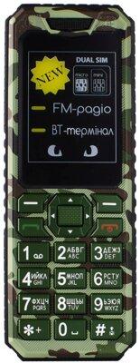 Мобільний телефон Sigma X-style 11 Green Camouflage 6