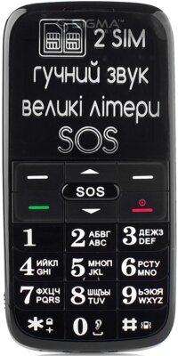 Мобільний телефон Sigma Comfort 50 Slim Black 2