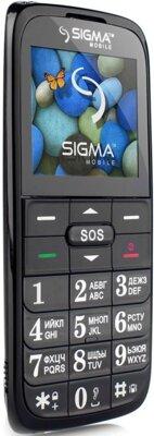Мобільний телефон Sigma Comfort 50 Slim Black 3