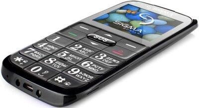 Мобільний телефон Sigma Comfort 50 Slim Black 4