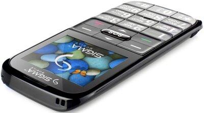 Мобільний телефон Sigma Comfort 50 Slim Black 5