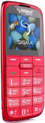 Мобільний телефон Sigma Comfort 50 Slim Red 3