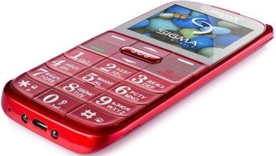 Мобільний телефон Sigma Comfort 50 Slim Red 4