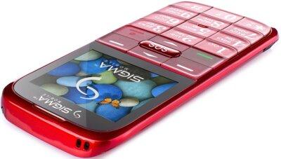 Мобільний телефон Sigma Comfort 50 Slim Red 5