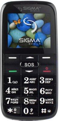 Мобильный телефон Sigma Comfort 50 Slim Red Black 1