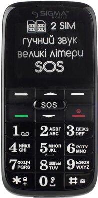 Мобильный телефон Sigma Comfort 50 Slim Red Black 2