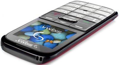 Мобильный телефон Sigma Comfort 50 Slim Red Black 4