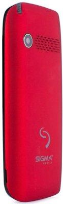 Мобильный телефон Sigma Comfort 50 Slim Red Black 7