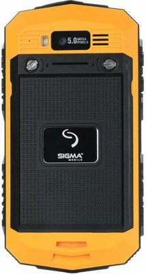Смартфон Sigma mobile X-treame PQ16 Yellow 2