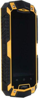 Смартфон Sigma mobile X-treame PQ16 Yellow 3
