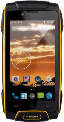 Смартфон Sigma mobile Х-treme PQ25 Yellow 1
