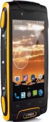 Смартфон Sigma mobile Х-treme PQ25 Yellow 2
