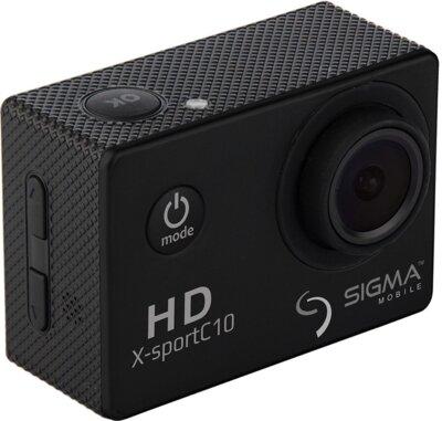 Екшн-камера Sigma mobile X-sport C10 Black 3