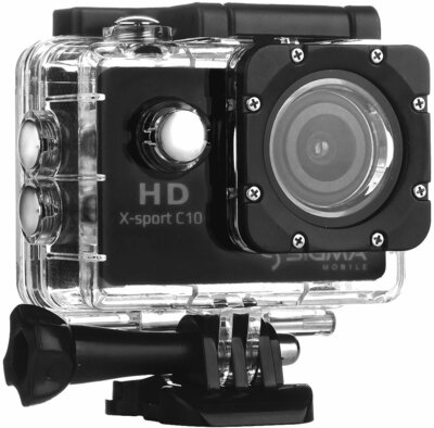 Екшн-камера Sigma mobile X-sport C10 Black 1
