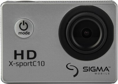 Экшн-камера Sigma mobile X-sport C10 Silver 2