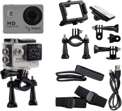 Экшн-камера Sigma mobile X-sport C10 Silver 7