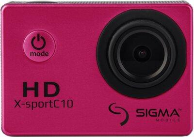 Екшн-камера Sigma mobile X-sport C10 Pink 2